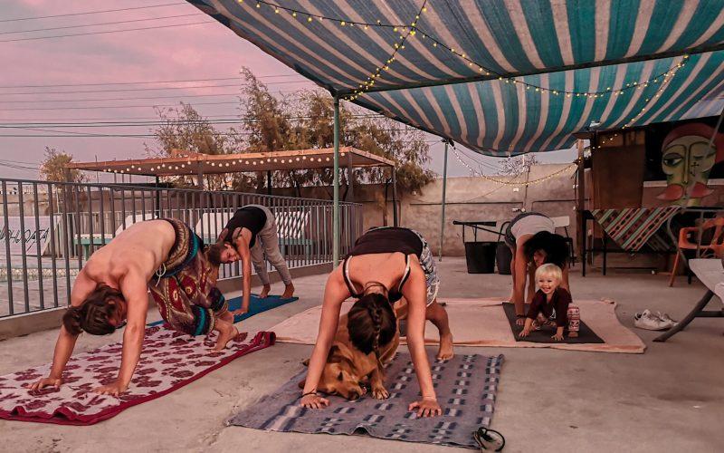 chill phuqata surf camp arica yoga